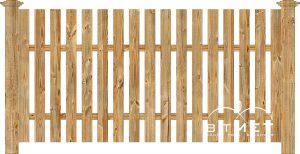 Holzzaun Aus Polen Bitmet